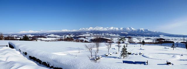 上富良野町の景色