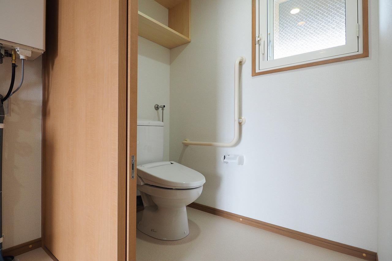泉町南団地町営住宅・トイレ
