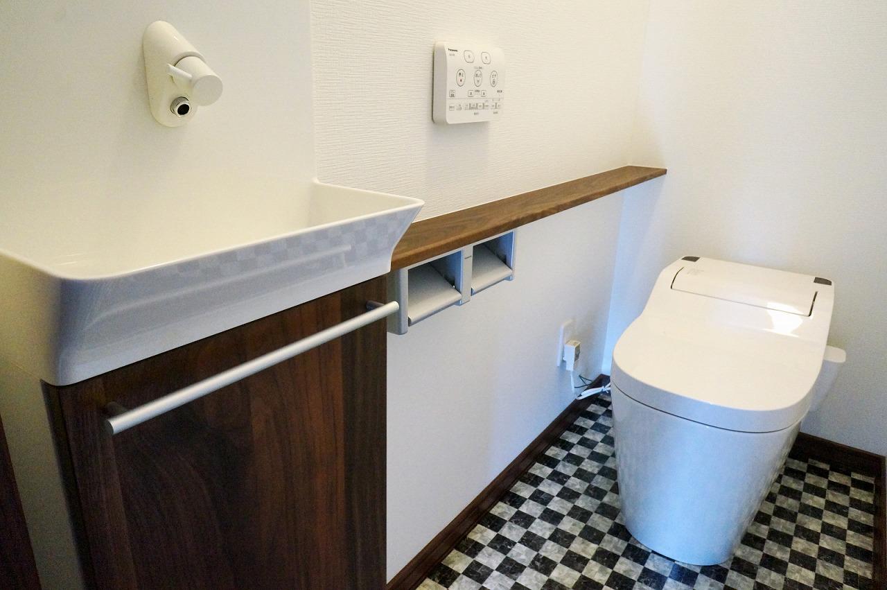 M様邸・2階トイレ