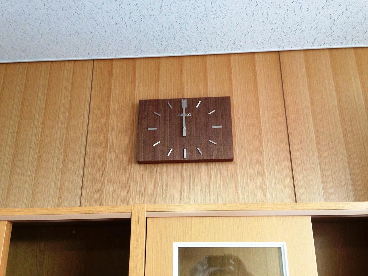 校長室・時計