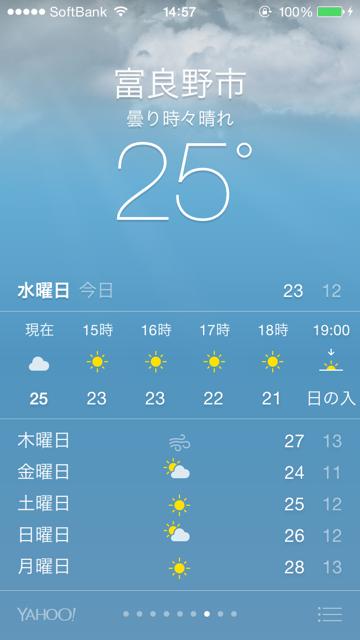 富良野市気温